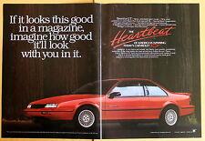 Magazine Print Ad 1989 Chevrolet Beretta GT