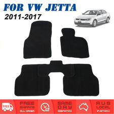 For VW Volkswagen Jetta 2011 to 2017 6th Gen Tailored Car Floor Mats Front Rear