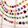 1.7m Paper-cut Hanging 3D Garland Colorful Paper Decor Wedding Party Decor FG