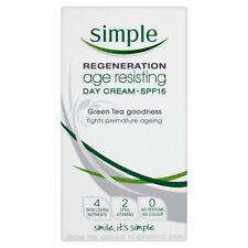 Simple Regeneration Age Resisting Day Cream SPF15 50ml NEW