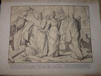 Alfred RETHEL RARE Litho SOCIALISME DANSE MORTS MACABRE VANITE REVOLUTION 1848 a