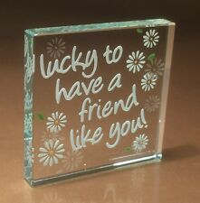 Spaceform Lucky to have a Friend Friendship Christmas Gift Ideas For Her 1420