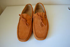 TOD'S 'Gommino' Suede Driving shoes Brown Size 6.5 Brand new