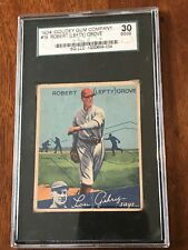 1934 Goudey #19 Lefty Grove  SG.LLC 30 3 GOOD CONDITION