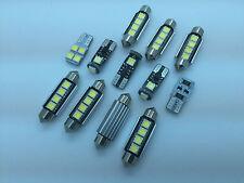 BMW X3 E83 2003-2010 FULL LED Interior Lights 12 pcs SMD Bulbs White GR