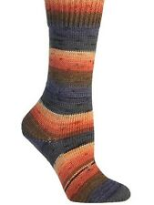 Berroco ::Berroco Sox #1404:: sock yarn Navy-Orange-Peach