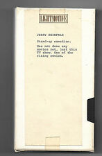 JERRY SEINFELD DEMO VHS PRE SEINFELD SHOW EARLY 90'S YARD SALE FIND HOLLYWOOD