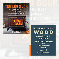 Will Rolls & Lars Mytting Collection 2 Books Set(The Log Book, Norwegian Wood)