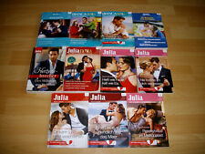 Bücherpaket Liebesromane Cora  Bianca Extra Julia Extra Julia Romanhefte
