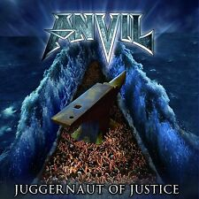 Anvil Juggernaut Of Justice CD NEW 2011 Metal