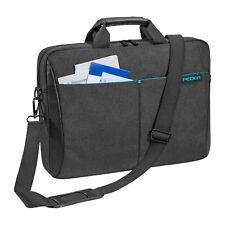 Notebook Schulter Tasche für Laptop 17,3 Zoll (43,9cm) Zubehörfächer, anthrazit