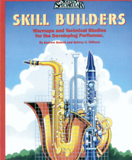 """SOUNDS SPECTACULAR """"SKILL BUILDERS"""" MUSIC BOOK 1-KEYBOARD PERCUSSION-NEW ON SALE"""