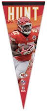 KAREEM HUNT Kansas City Chiefs Football NFL Premium Felt PENNANT by Wincraft