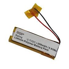 HQRP Batería para Sony DR-BT160AS; BP-HP160, DR-BT160, DRBT160AS Auriculares