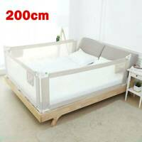 200cm Bed Safety Guards Folding Child Toddler Bed Rail Safety Protection Guard