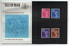 GB 1971 Isle of Man Regional Definitives Presentation Pack No. 30 VGC stamps
