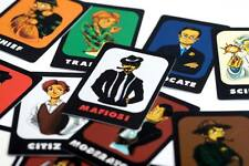 Mafia Game Plastic Cards 21pc set