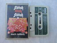 CASSETTE BLACK SABBATH SABBATH BLOODY SABBATH wwa acbc 00166