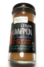 Frontier Co-Op Organic Ceylon Cinnamon Non Gmo Ground Powder 1.76 Oz  Fair Trade