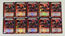 (10) Duel Masters TCG Rothus, the Traveler 85a/110 Super Rare Holo Promos Mint