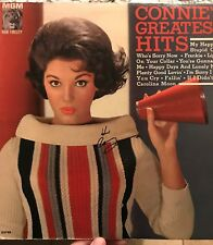 Connie Francis Autograph SIGNED LP JSA COA Album Greatest Hits