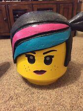 Wild Style Lego Adult Size Figuring Head  Costume Batman