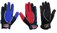 Cycling Bike Bicycle Gel Full Finger Gloves