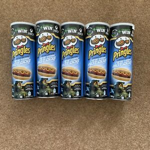 Pringles New York Hot Dog 165g Limited Edition 5 Tubs Free Xbox Pass Included!