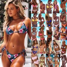 2020 Sexy Womens Floral Bikini Set Push up Padded Swimwear Swimsuit Bathing Suit