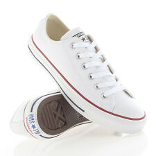 Chuck Taylor ALL Star CT OX leather Converse White 132173C