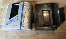 Rare Sanyo M-G2 stereo FM/AM metal cassette  tape player walkman made in Japan