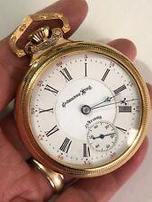 Rarest Watch in my Collection Columbus King 23J Pocket Watch Salesman