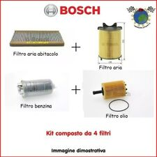 Kit 4 filtri tagliando Bosch OPEL ZAFIRA A ASTRA G #jf