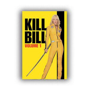 """Kill Bill Vol. 1 Uma Thurman Katana Art Movie Poster HD Print 12 16 20 24"""" Sizes"""