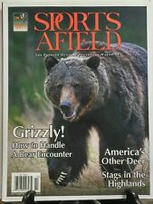 Sports Afield September October 2016 Grizzly A Bear Encounter FREE SHIPPING sb