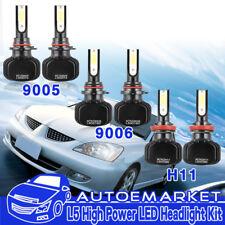 6pcs 9005 9006 H11 1200W 120000LM LED Headlights Kit Bulbs Hi-Lo 6000K+Fog Light