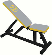 Incline Bench Heavy Duty Steel Weight  Bench Bicep Gym Equipment Barbell