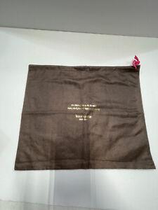 Kate Spade Medium Brown Drawstring Handbag Dust Cover Storage Bag