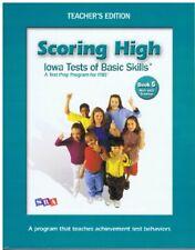 Scoring High lowa Tests of Basic Skills Book 5 Teacher's Edition