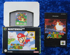 Super Mario 64, Nintendo 64 Spiel, OVP Anleitung