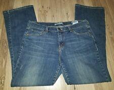 Levi's Women's Jeans 515 Bootcut 12M Dark Wash Stretch Rear Flap Pockets EUC