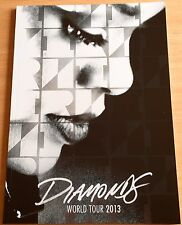 Rihanna  -  Diamonds Official Tour Programme