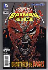 BATMAN & THE RED HOOD #20 - PATRICK GLEASON ART & COVER - 2013
