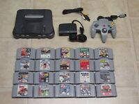 Nintendo 64 komplett mit Controller + 1 Gratis Spiel