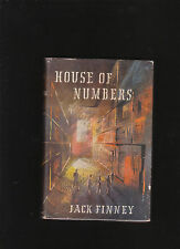 JACK FINNEY. HOUSE OF NUMBERS.HARDCOVER IN JACKET.U.K..IST ED.