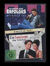 DVD DAS GEHEIMNIS MEINES ERFOLGES + EIN CONCIERGE ZUM VERLIEBEN - MICHAEL J. FOX
