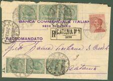Regno - Perfin. Raccomandata del 2.11.1925