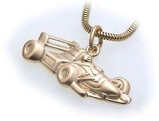 1 Ciondolo in vero oro 333 Formula Auto corsa Auto corsa Oro giallo Unisex Auto