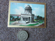 PAN HANDLE  SCRAP  Sights & Scenes  Grants Tomb NEW YORK  Tobacco Card 1911-12