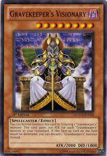 3x Yugioh SDMA-EN018 Gravekeeper's Visionary Common Card